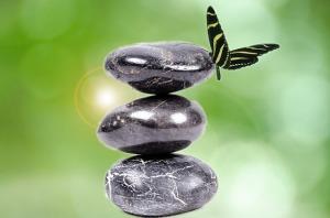 El Zen ayuda a mantener el equilibrio.