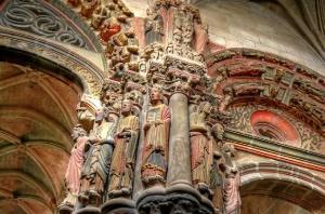 Pórtico del Paraíso de la Catedral del San Martiño en Ourense. / http://en.wikipedia.org