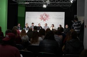 Rueda de prensa de 'Musarañas'. / Foto: www.estebanroel.com