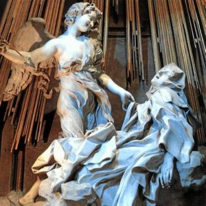 El éxtasis de Santa Teresa de Bernini.