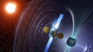 Una tormenta solar podría dañar los sistemas de telecomunicaciones terrestres. / http://surestepress.wordpress.com