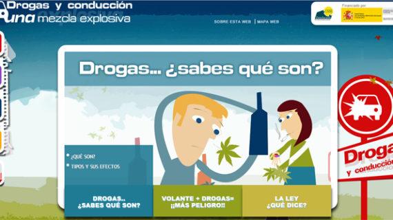 Lanza una web en lenguaje de signos para alertar del peligro de consumir drogas y alcohol al volante