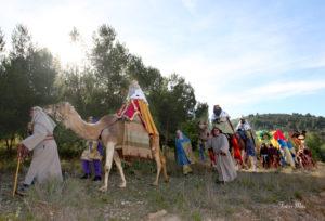 Los Reyes Magos acompañados de sus pajes. / http://www.autoreyesmagos.com