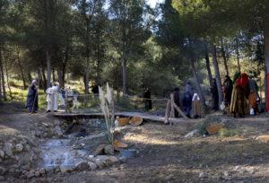 La Sagrada Familia huye a Egipto. / http://www.autoreyesmagos.com