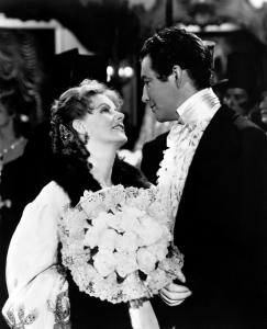 Greta Garbo y Robert Taylor en 'La dama de las camelias'. / http://lopezlinares.com