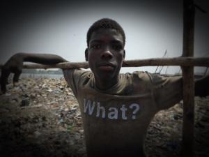 Un joven en Benin. / Foto: Patricia Rodríguez.