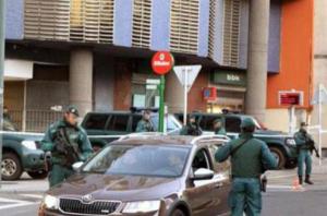 Detención de abogados de Eta. / Foto: Ministerio del Interior.
