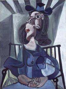 'Femme au chapeaux', de  Picasso, podrá verse en el Museo del Prado. / Foto: www.museodelprado.es