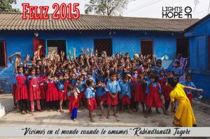 Un total de 180 niños asisten a este colegio.