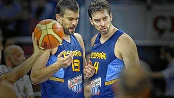 Pau y Marc Gasol hacen historia en la NBA