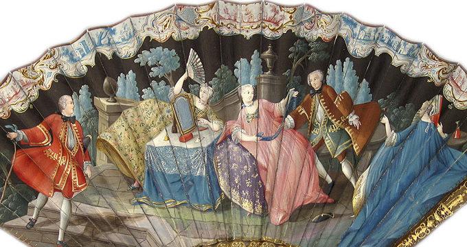 El Museo Lázaro Galdiano exhibe una veintena de abanicos del siglo XVIII