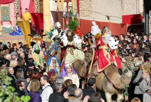 Los Reyes Magos por las calles de Cañada. / http://www.autoreyesmagos.com