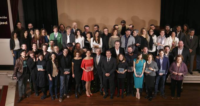Los Premios Asecan del Cine Andaluz 2015 rinden homenaje a Victor Barrera y Filomeno Martínez de Aspe