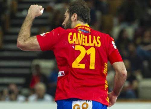 España vence a Dinamarca en cuartos de final
