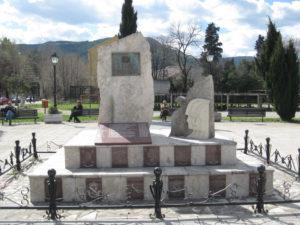 Plaza de España en Móstar (Bosnia). / http://leopardosenlanieve.blogspot.com.es
