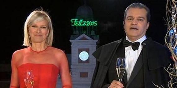 Más de 11,5 millones de españoles siguieron las campanadas de fin de año por televisión