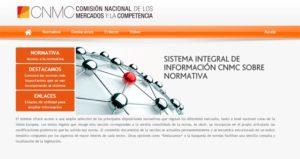 Nuevo espacio sobre normativa del CNMC.
