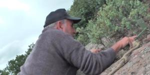 Imagen del documental etnográfico grabado en Bureta.