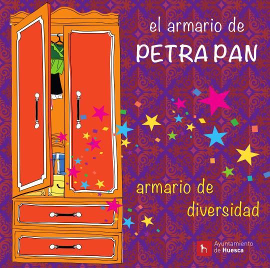 Huesca acoge la exposición sobre la convivencia 'El armario de Petra Pan: Armario de Diversidad'