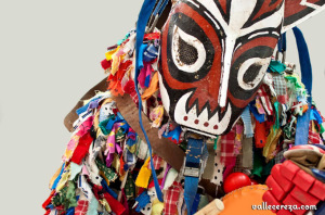 Jarramplas, el personaje más famoso de Piornal. / Foto: vcereza.blogspot.com.es