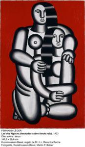 'Les deux figures' de Fernand Léger, una de las obras del museo suizo que se exhibirá en el Reina Sofía. / Foto: www.museoreinasofia.es
