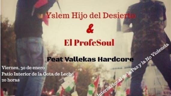 Concierto de rap en Logroño a favor del pueblo saharaui