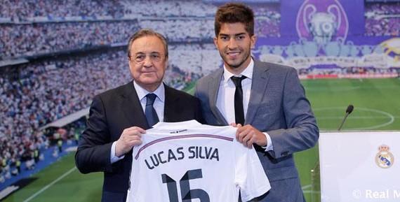 "Lucas Silva llega al Real Madrid queriendo ""hacer historia"""