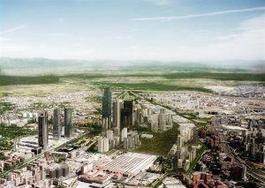 Proyecto Castellana Norte de Madrid. / Foto: Europa Press.