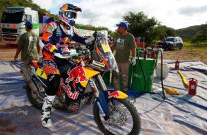 Marc Coma en un momento de la competición. / Foto: www.dakar.com