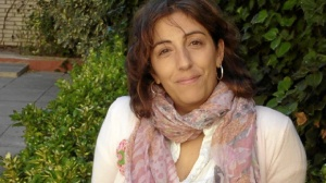La escritora María Frisa.