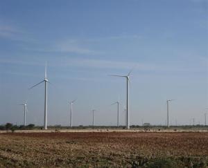 Parque de molinos de viento. / Foto: Europa Press.