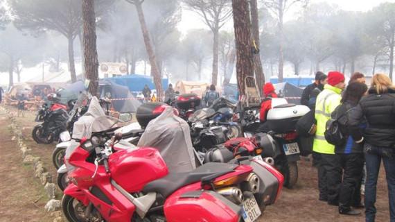 Arranca en Tordesillas la concentración motera Motauros