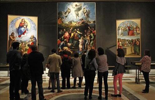 Las visitas a 16 museos estatales aumentan un 50% en 2014 y se sitúan cerca de los tres millones