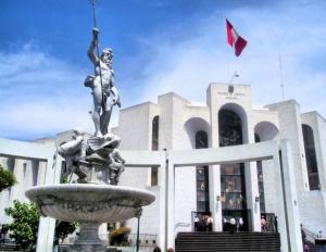 Plaza de España en Arequipa (Perú). / http://www.rpp.com.pe