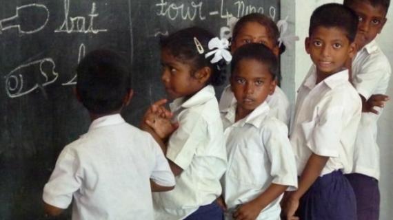 Una luz de esperanza en el poblado de intocables de Dubrayapet