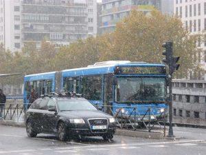 Todo controlado en Madrid para evitar posibles problemas por las nevadas. / Foto: Europa Press.