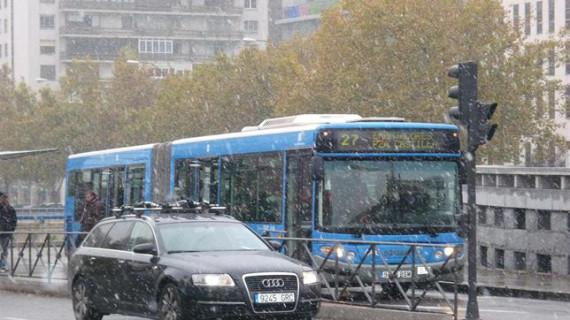 Madrid se prepara para hacer frente a la nieve