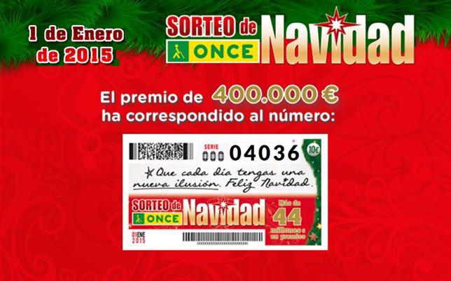 El sorteo extraordinario de Navidad de la ONCE reparte 26,5 millones en 13 CCAA