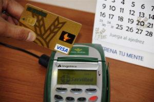 Pago con tarjeta. / Foto: Europa Press.