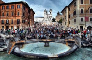 Plaza de España en Roma. / http://erhansasmaz.deviantart.com