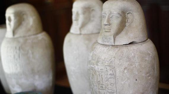 La Guardia Civil recupera 36 piezas arqueológicas expoliadas en Egipto
