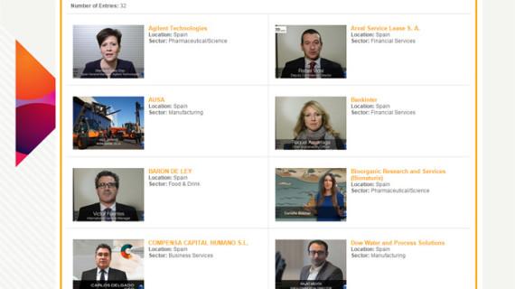 Un total de 32 empresas españolas optan a los premios European Business Awards