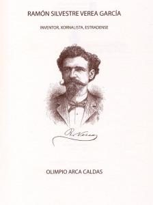 Portada del libro de Olimpio Arca sobre Ramón Verea.