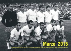 Calendario de 2015 del Real Zaragoza.