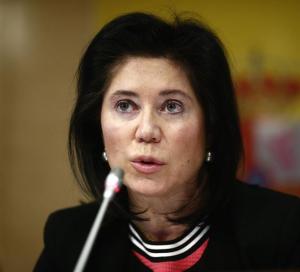 La secretaria general del Tesoro, Rosa Sánchez-Yebra. / Foto: Europa Press.