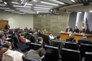 Rueda de prensa posterior al Consejo de Ministros. / Foto: Moncloa.