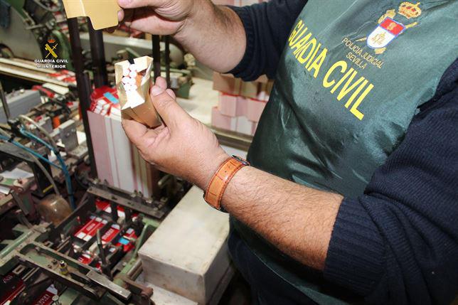 Tabaco incautado en la operación. / Foto: Guardia Civil.