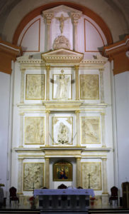 Retablo de la iglesia de Cristo Rey de Valencia./ Foto: A. Sáiz / Avan