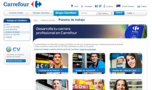 Web de Carrefour.