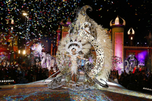 Reina del Carnaval de las Palmas de Gran Canarias. / http://blog.lpacarnaval.com